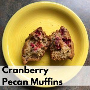 Pecan Cranberry Bread Recipe