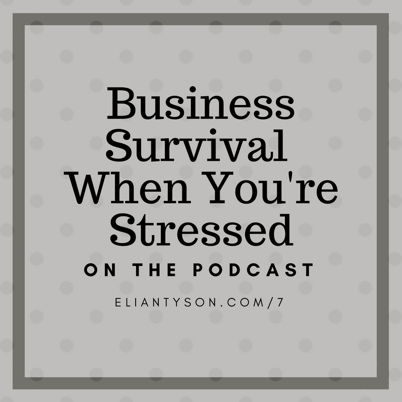 Hometown Marketing Podcast Episode 7 – how to help your business survive when things are stressing you out