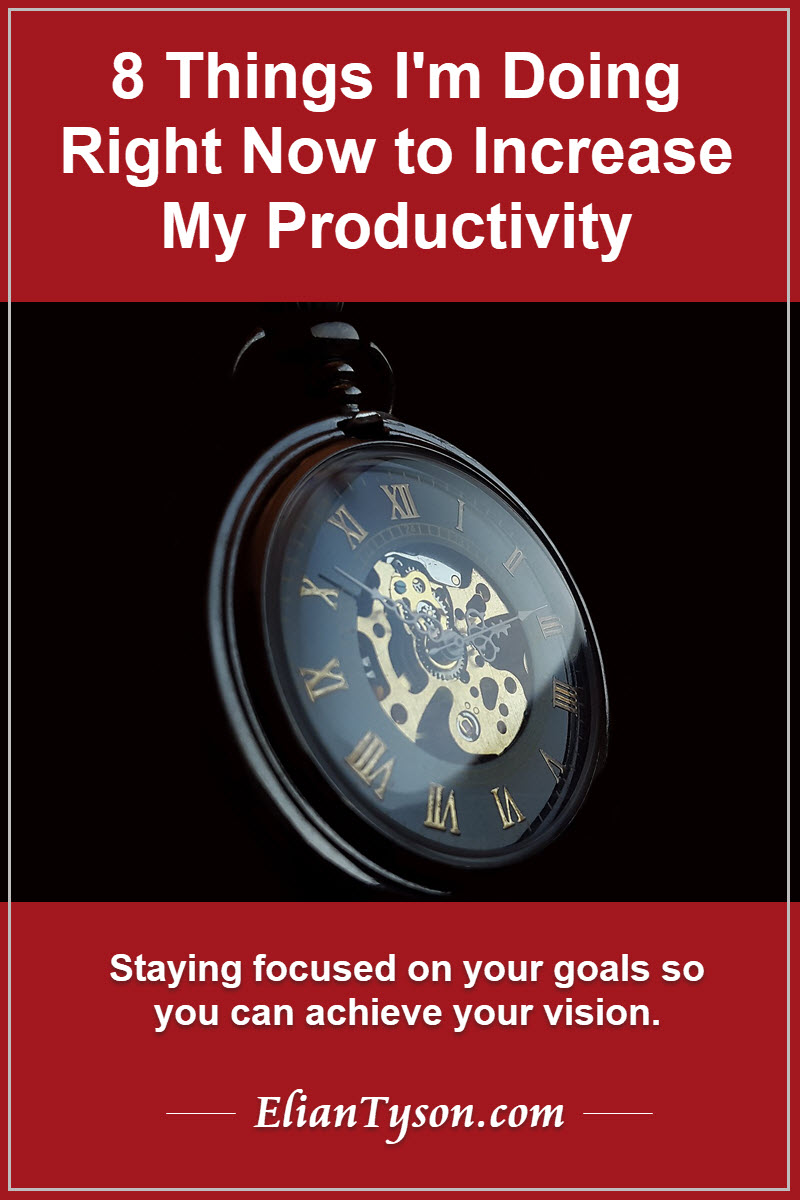 Read more about the article 8 Things I'm doing right now to increase my productivity